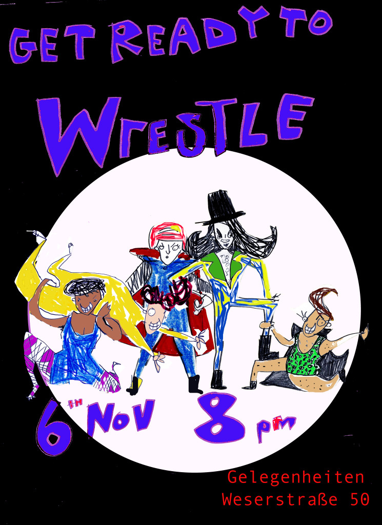 Get ready to wrestle 6 november